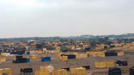 Cientos de familias vuelven a ocupar extenso predio tras desalojo en Lambayeque