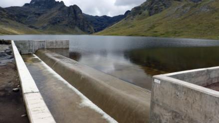 Andahuaylas: represan lagunas ante escasez de agua de regadío