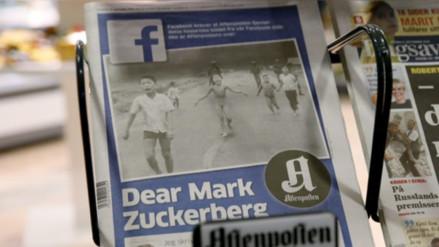 Facebook levantó la censura a la histórica fotografía de 'La niña del napalm'