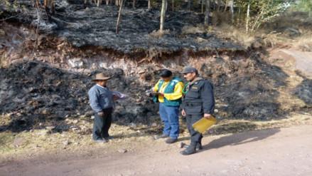 Fiscalía sancionó a dos ancianos que provocaron incendios forestales