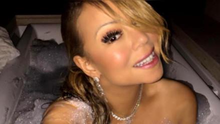 Mariah Carey se quita la ropa y se deja los diamantes en Instagram
