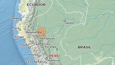 Sismo de 6.1 grados remeció San Martín esta madrugada
