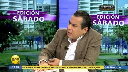"""Gustavo Adrianzén: """"No fue un error la destitución de Julia Príncipe"""""""