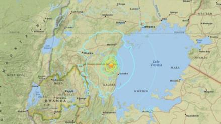 Al menos diez muertos por fuerte sismo en Tanzania