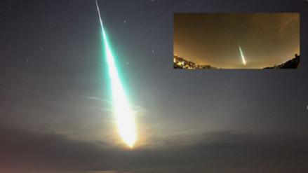 Reportan la explosión de un meteorito en el cielo de Chipre