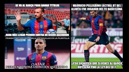 Barcelona acapara memes luego de caer 2-1 ante Deportivo Alavés