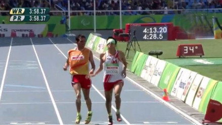 Juegos Paralímpicos Río 2016: peruano Luis Sandoval mejoró su marca personal