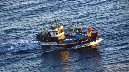Intervienen lancha peruana que trasladaba carne de tiburón en Chile