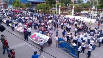 Anuncian bloqueo de carretera Belaunde Terry por paro de 48 horas
