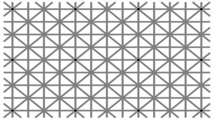 Facebook: los '12 puntos negros' y por qué no puedes verlos juntos al mismo tiempo