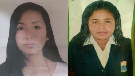 La Libertad: reportan dos casos de adolescentes desaparecidas