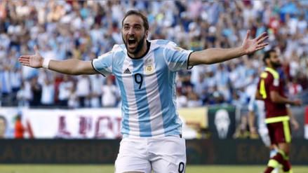Argentina convocará a Gonzalo Higuaín para jugar ante Perú