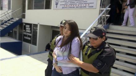 Chiclayo: Katiuska Del Castillo salió de penal y recibió atención en clínica