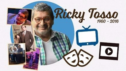 Ricky Tosso, una vida en el teatro, la televisión y el cine