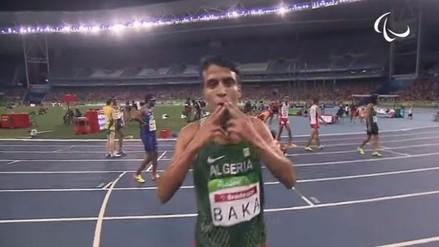 Paralímpico ganó los 1.500 en Río con un mejor tiempo que el campeón olímpico