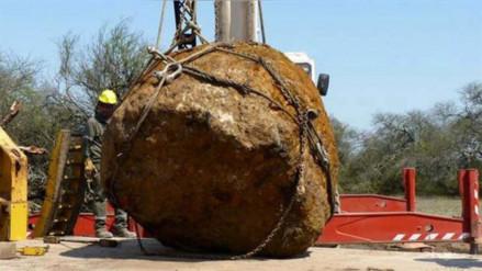 Hallan un meteorito de 30 toneladas en Argentina