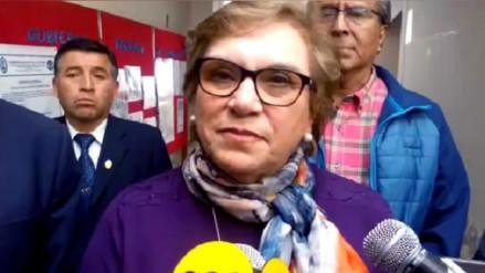 Ministra de la Mujer abordó problemas de violencia contra niños y adolescentes