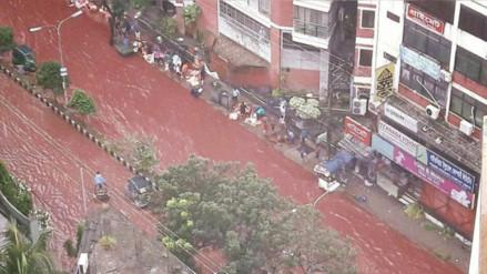 Facebook: Bangladesh se vio sorprendida por ríos de sangre animal