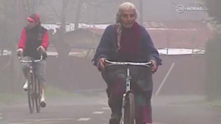 Facebook: tiene 90 años y todos los días recorre 30 kilómetros para vender huevos