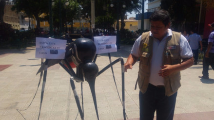 Realizan feria informativa para evitar dengue, Zika y Chikungunya en Piura