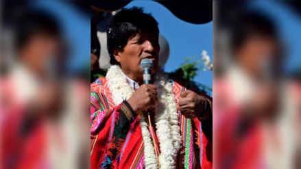 Evo Morales dice que EE.UU. reprueba su política antidroga porque es anticapitalista