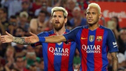 Messi y Neymar dejan a 8 rivales en el camino para este go-la-zo