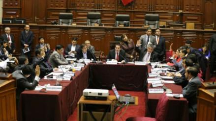 Comisiones de Congreso tienen siete días para analizar pedido de facultades