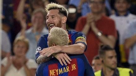 Triplete de Messi y Barcelona aplastó 7-0 al Celtic por Champions League