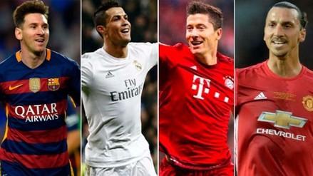 10 goleadores históricos de la Champions League que siguen jugando