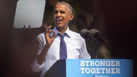Obama pide el voto por Clinton frente al