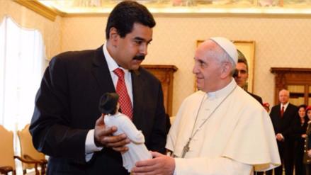 El papa Francisco envió una carta a Nicolás Maduro por la crisis en Venezuela