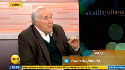 """García Belaunde: """"El sistema electoral peruano no es perfecto, pero funciona"""""""