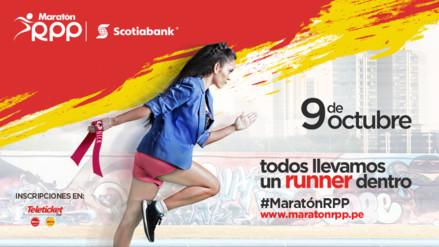 Se presentó la Maratón RPP Scotiabank 2016