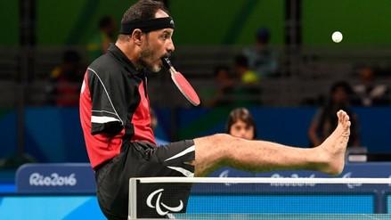 Ibrahim Hamadtou, el tenista de mesa sin brazos que conmueve al mundo