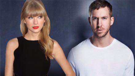 Taylor Swift y Calvin Harris tuvieron acercamiento