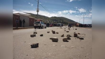 Campesinos acatan paro de 48 horas en rechazo a minera Buenaventura