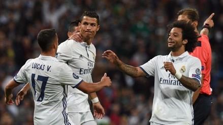 Cristiano Ronaldo respondió al golazo de Messi con un tiro libre al ángulo