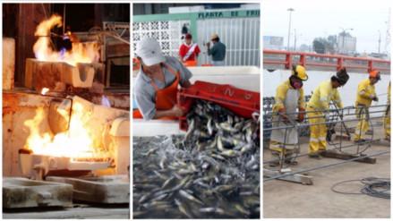 Minería, Pesca, Construcción, Agro ¿Cuánto crecieron en julio?