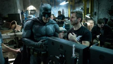 Primer vistazo a la nueva armadura de Batman en Justice League