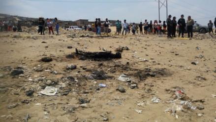 Horrendo crimen: ahorcan e incineran a mujer en Trujillo