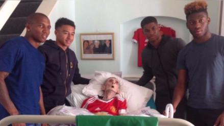 Hincha desahuciado del Manchester United vio a sus ídolos y 45 minutos después murió