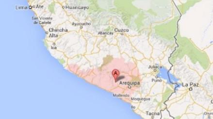 Cuarto sismo alarma a población de Caylloma