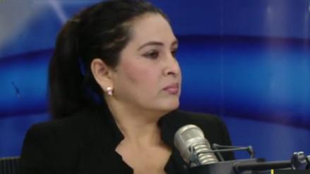 """Maritza García: """"Vilcatoma ha dado un buen paso al costado"""""""