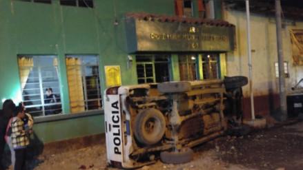 Tensión en comisaría de Huancayo por detención de presuntos 'pishtacos'