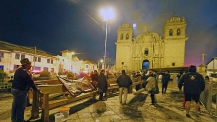 Patrimonio cultural afectado por incendio en Templo de San Sebastián