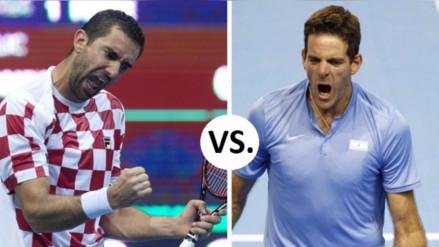Croacia y Argentina disputarán la final de la Copa Davis en noviembre