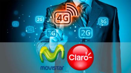 Cinco detalles sobre la promoción de internet 4G ilimitado de Movistar y Claro