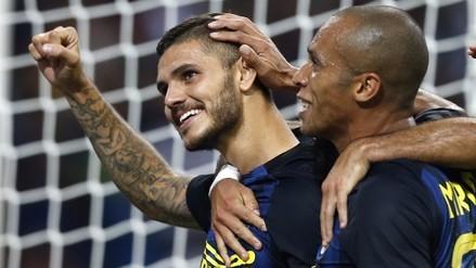 Inter venció 2-1 a Juventus con gran actuación de Mauro Icardi