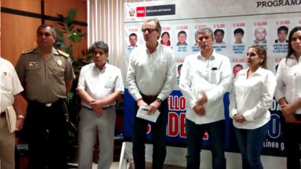 Ministro del Interior concluyó reunión con autoridades de Piura