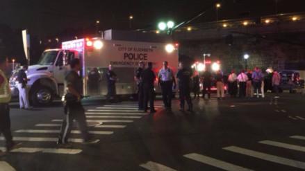 Un artefacto sospechoso explotó en una estación de tren en Nueva Jersey